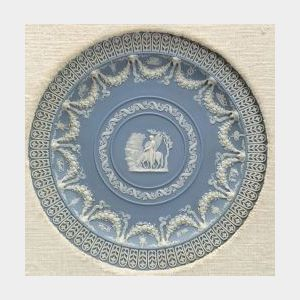 Wedgwood Solid Light Blue Jasper Trophy Plate