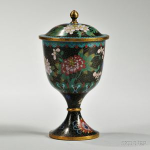 Cloisonne Covered Chalice