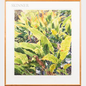 Susan Heideman (American, 20th Century)      Gilded Leaves