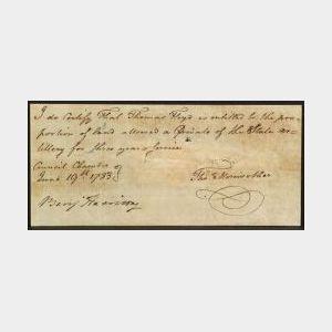 Harrison, Benjamin (1726-1791), Signer from Virginia