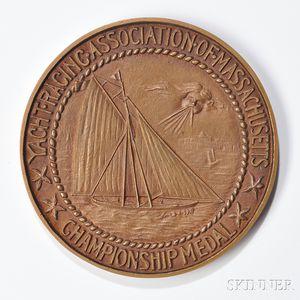 Yacht Racing Association of Massachusetts Bronze Championship Medal