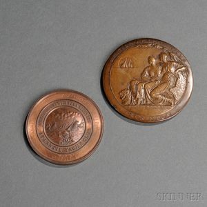 Two Bronze Yachting Medals