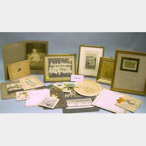 Group of 18th-20th Century Ephemera and Collectibles