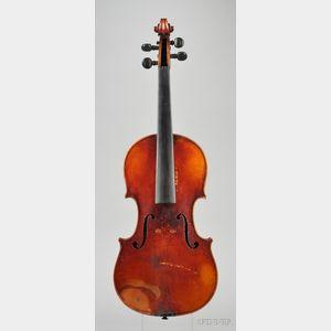 Swiss Violin, Gustave Lutsch, Zurich, 1894