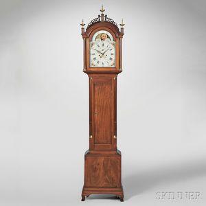 Simon Willard Mahogany Eight-day Tall Clock