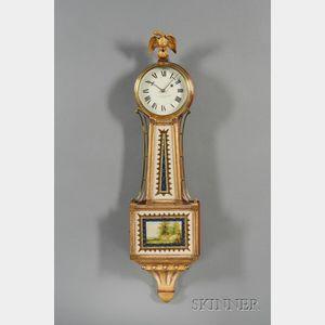 "Mahogany Patent Timepiece or ""Banjo"" Clock, by E. Howard & Co."