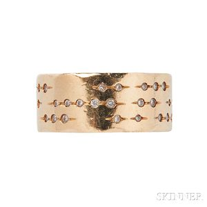 """18kt Gold and Diamond """"Code"""" Ring, H. Stern"""