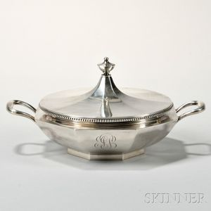 Shreve, Crump & Low Sterling Silver Tureen and Cover