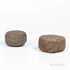 Two Hawaiian Smoothing or Bath Stones
