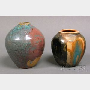 Two Pottery Vessels