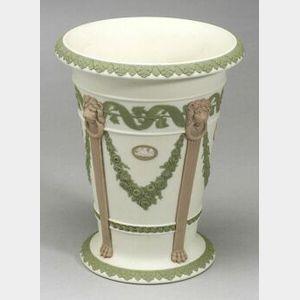 Wedgwood Three Color Jasper Vase