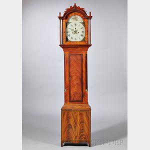 New Hampshire Grain-painted Tall Clock