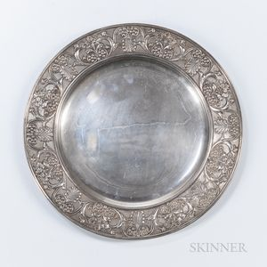 Buccellati .800 Silver Tray