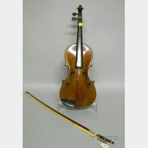 Klingenthal Violin, c. 1880