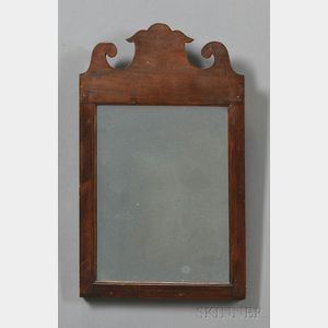 Small Queen Anne Mirror