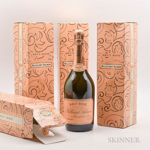 Billacart Simon Brut Rose NV, 4 bottles (ind. ocs)