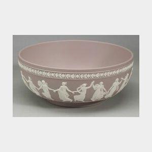 Wedgwood Solid Lilac Jasper Bowl