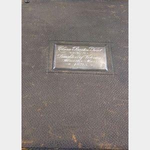 Clara Barton Tent No. 3 Daughters of Veterans Presentation Photo Album
