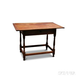 William & Mary-style Maple Tavern Table