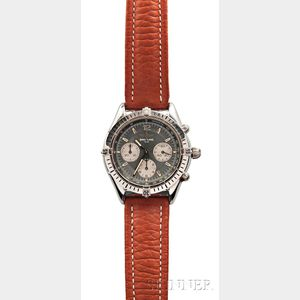 "Stainless Steel Breitling ""1884"" Automatic Watch"