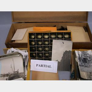 Collection of Late 19th/20th Century Photographic Negatives and Photographs
