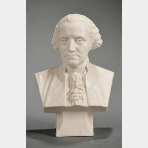 Cook Parian Bust of Washington