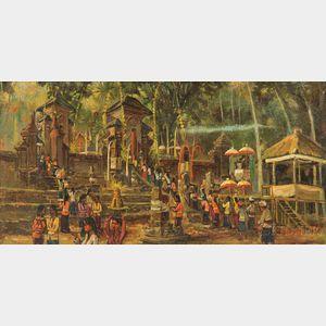 Gusti Ketut Suandi (b. 1932), Upacara