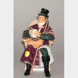"Royal Doulton ""The Coachman"" Ceramic Figure"
