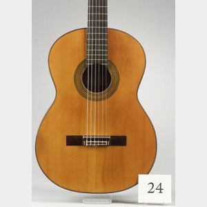 Spanish Guitar, Ignacio Fleta, Barcelona, 1962