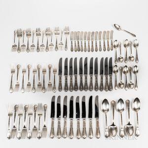 Sterling Silver Flatware Service