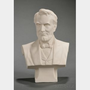 Cook Parian Bust of Lincoln