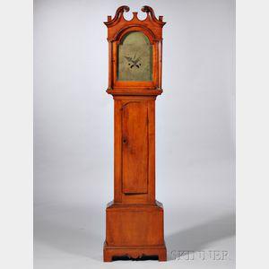 Timothy Chandler Maple Tall Clock