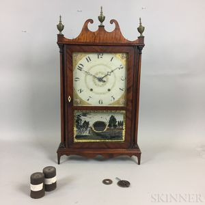 Eli Terry Pillar and Scroll Clock