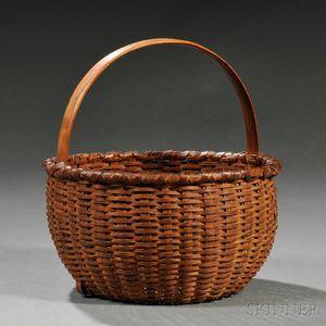 Small Woven Splint Basket