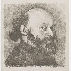 Édouard Vuillard (French, 1868-1940)      Portrait de Cézanne