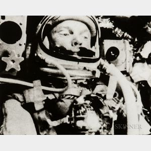 Recorded by an Automatic Movie Camera Aboard the Friendship 7 Capsule