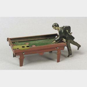 Kellermann Penny Toy Billiard Player