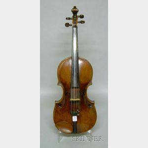 Mittenwald Violin, School of Aegidius Kloz, c. 1780
