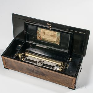 Twelve-air Cylinder Musical Box