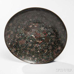 Cloisonne Plate