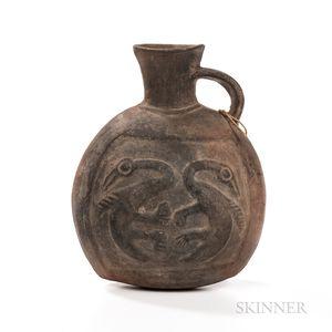 Pre-Columbian Spout Vessel