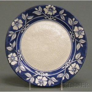 Dedham Pottery Wild Rose Plate