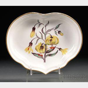 Derby Porcelain Botanical Dish