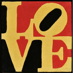 After Robert Indiana (American, b. 1928)      Liebe Love