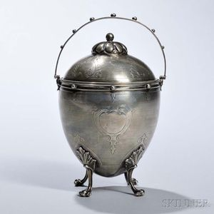 Gorham Coin Silver Covered Sugar Bowl