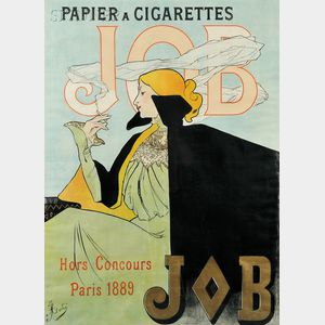 Jane Atché (French, 1872-1937)      Papier à Cigarettes Job