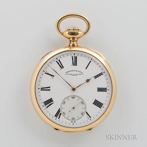 "Vacheron Constantin ""Chronometre Royal"" 18kt Gold Open-face Watch"