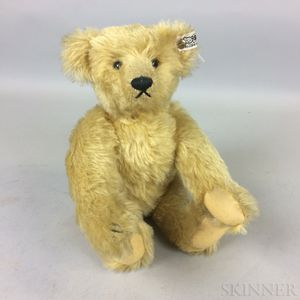Steiff Blonde Mohair Teddy Bear