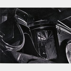 Ansel Adams (American, 1902-1984)      Abandoned Hearse, Bodie, California