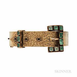 Victorian Gold Gem-set Bracelet